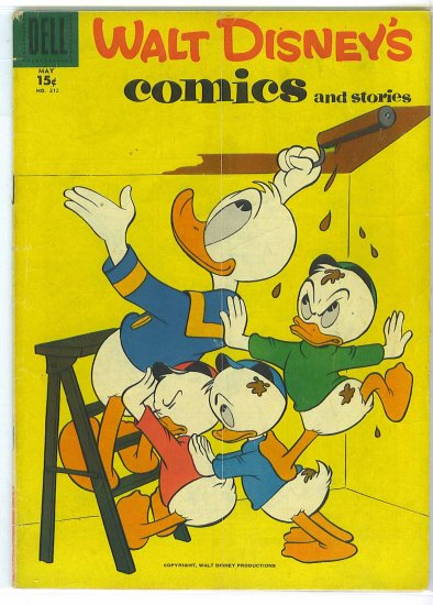 Walt Disney's Comics And Stories # 212, 4.0 VG