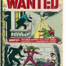 WANTED; THE WORLD'S MOST DANGEROUS VILLIANS # 4, 4.0 VG