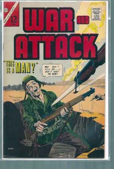 WAR AND ATTACK # 60, 8.0 VF