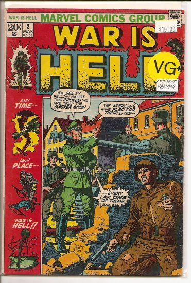 War is Hell # 2, 4.5 VG +