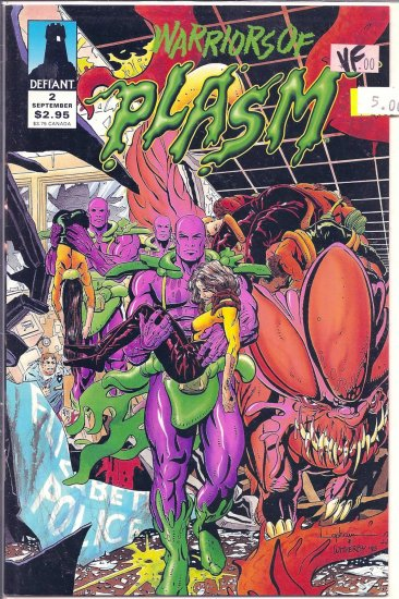 Warriors of Plasm # 2, 8.0 VF