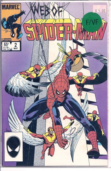 Web Of Spider-Man # 2, 7.0 FN/VF