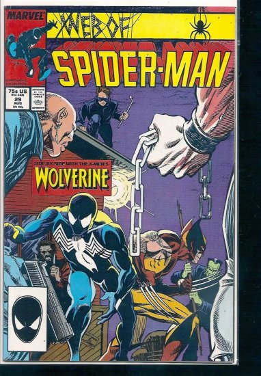 WEB OF SPIDER-MAN # 29, 4.0 VG