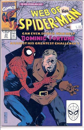 Web Of Spider-Man # 71, 9.4 NM
