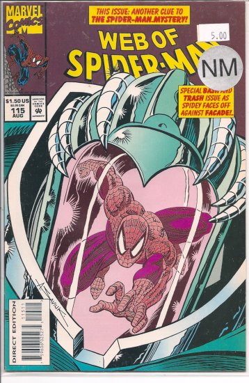Web Of Spider-Man # 115, 9.4 NM