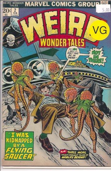 Weird Wonder Tales # 2, 4.0 VG