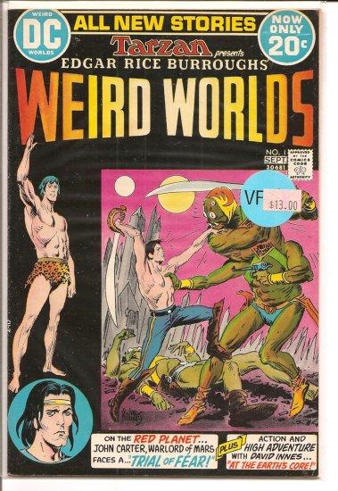 Weird Worlds # 1, 8.0 VF