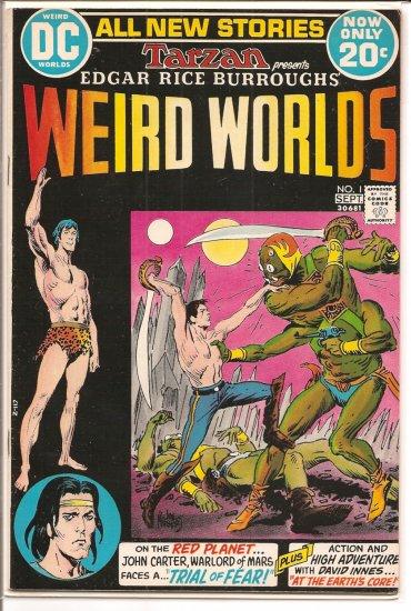 Weird Worlds # 1, 7.5 VF -