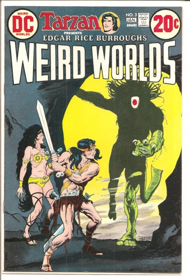 Weird Worlds # 3, 8.5 VF +