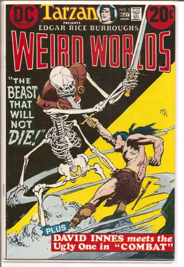 Weird Worlds # 5, 6.5 FN +