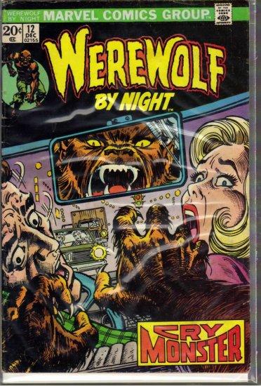 WEREWOLF BY NIGHT # 12, 3.5 VG -