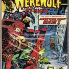 WEREWOLF BY NIGHT # 21, 4.5 VG +