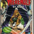 WEREWOLF BY NIGHT # 26, 7.5 VF -
