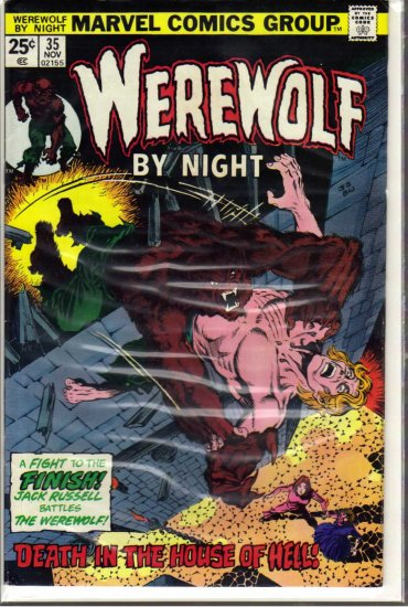 WEREWOLF BY NIGHT # 35, 6.5 FN +