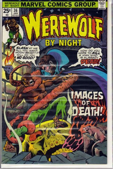 WEREWOLF BY NIGHT # 36, 5.5 FN -
