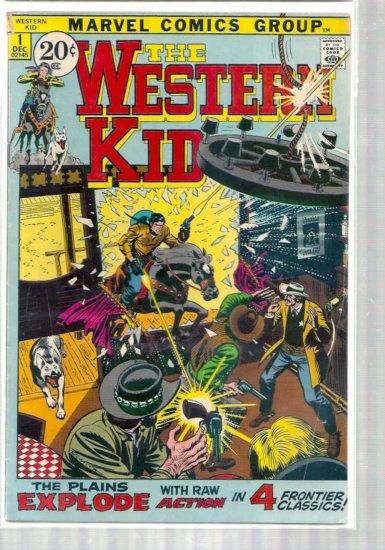 WESTERN KID # 1, 4.0 VG