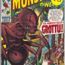 Where Monsters Dwell # 3, 4.5 VG +