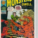 WHERE MONSTERS DWELL # 8, 4.5 VG +