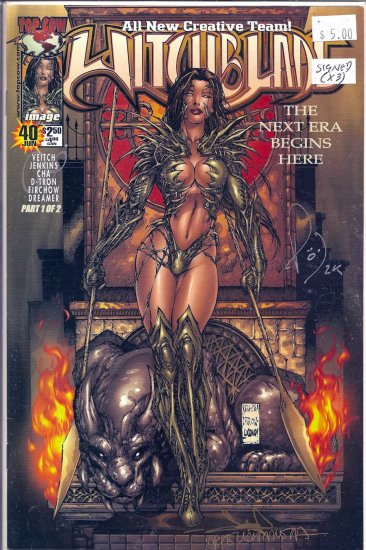 Witchblade # 40, 9.0 VF/NM