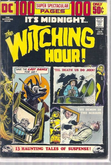 WITCHING HOUR # 38, 4.0 VG