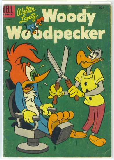 Woody Woodpecker # 28, 4.5 VG +