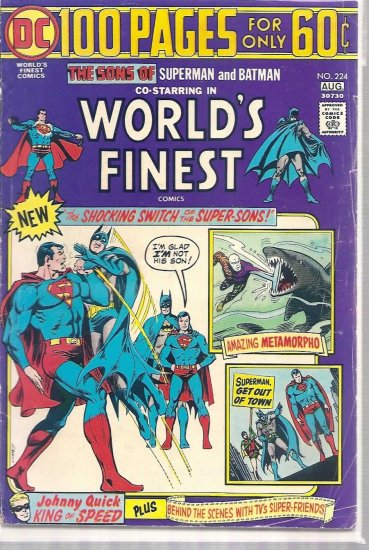WORLD'S FINEST # 224, 4.0 VG