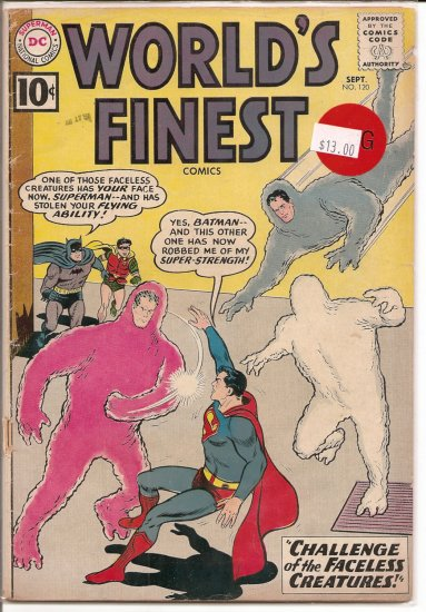 World's Finest Comics # 120, 2.0 GD