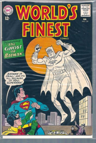 World's Finest Comics # 139, 5.0 VG/FN