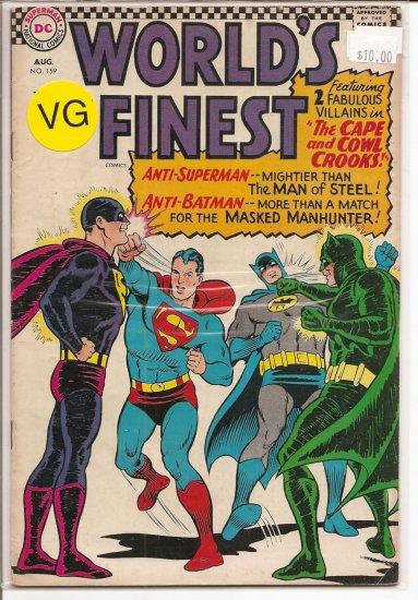 World's Finest Comics # 159, 4.0 VG