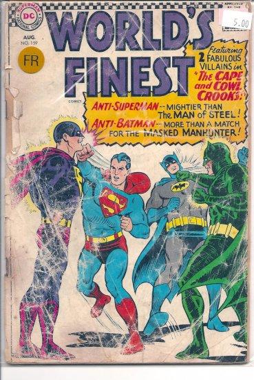 World's Finest Comics # 159, 1.0 FR