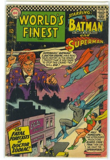 World's Finest Comics # 160, 3.0 GD/VG
