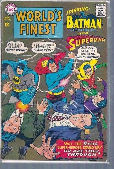 World's Finest Comics # 168, 5.0 VG/FN
