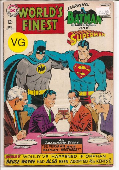 World's Finest Comics # 172, 4.0 VG