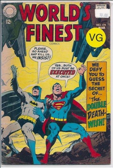 World's Finest Comics # 174, 4.0 VG