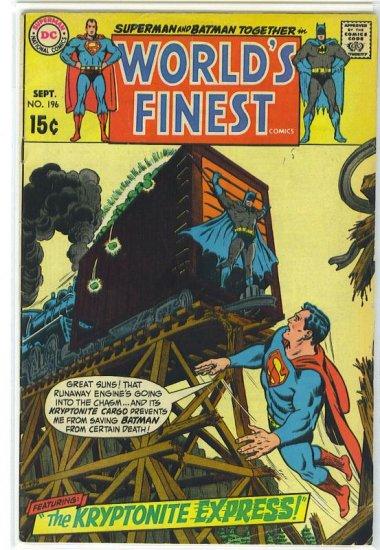 World's Finest Comics # 196, 4.0 VG