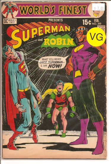 World's Finest Comics # 200, 4.0 VG