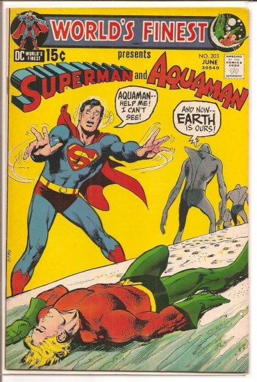 World's Finest Comics # 203, 6.5 FN +