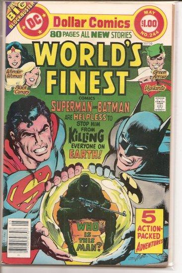 World's Finest Comics # 244, 5.5 FN -