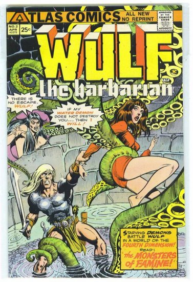 Wulf the Barbarian # 2, 8.0 VF