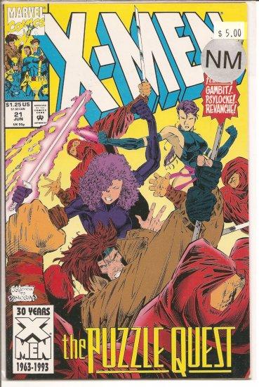 X-Men # 21, 9.4 NM