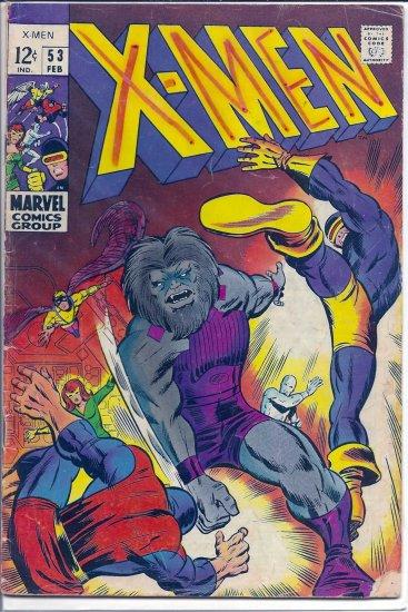 X-MEN # 53, 3.0 GD/VG