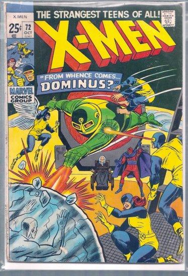 X-MEN # 72, 4.0 VG