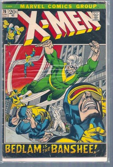 X-Men # 76, 3.0 GD/VG