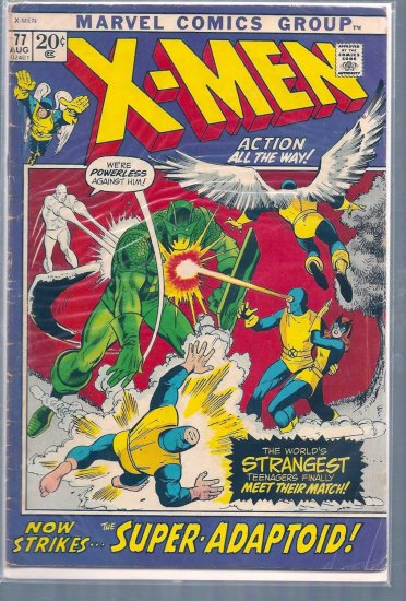 X-Men # 77, 3.0 GD/VG
