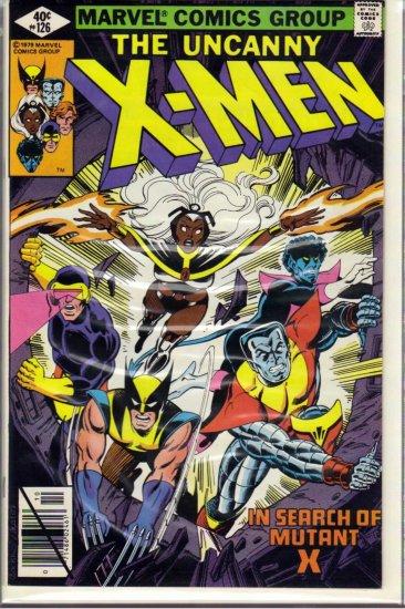 X-MEN # 126, 7.5 VF -
