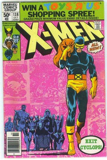 X-Men # 138, 4.5 VG +