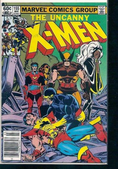 X-MEN # 155, 6.5 FN +