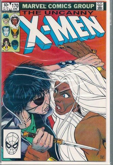 X-MEN # 170, 9.0 VF/NM