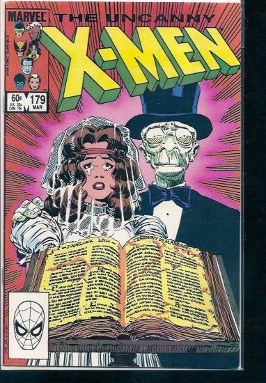 X-MEN # 179, 5.0 VG/FN