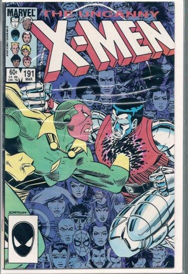 X-MEN # 191, 9.0 VF/NM